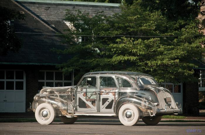 Автомобиль-призрак (фото)