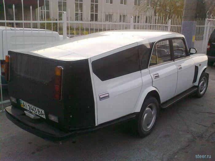 Тюнинг Москвича : Cборная солянка (фото)