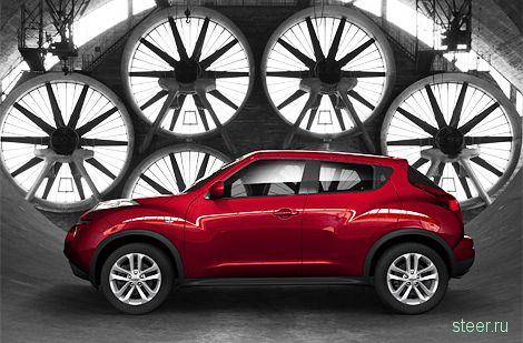 Компактный кроссовер Nissan Juke представлен официально (фото)