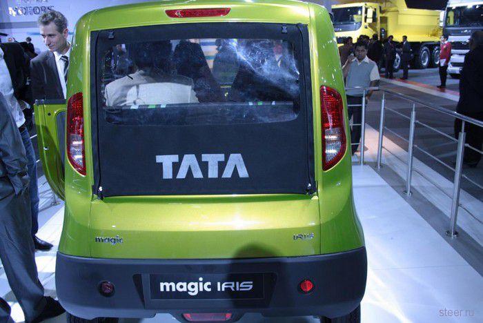 Tata Magic Iris : официальные фото самого дешевого минивэна (фото)