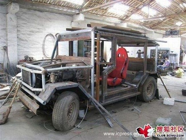 Еще один китайски джип (фото)
