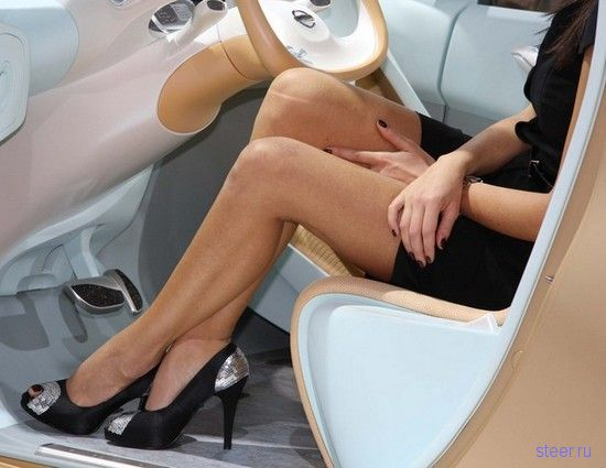 девушки автосалона