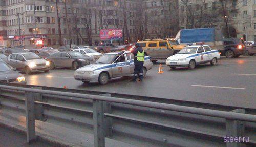 борьба с пробками по-московски
