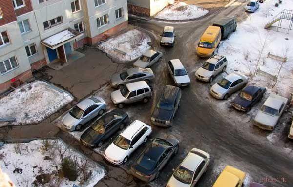 Парковочный кретинизм (фото)