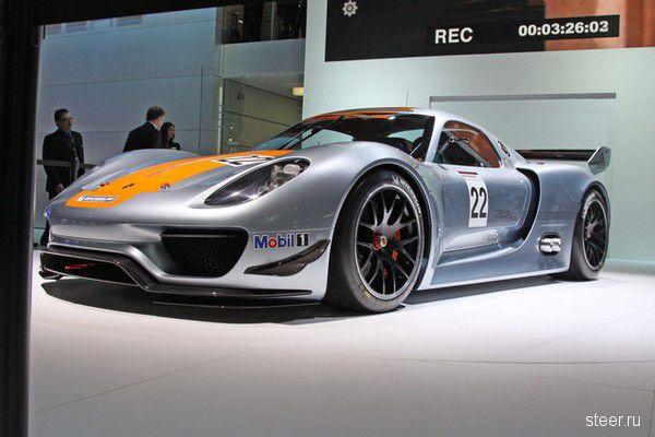 Porsche 918 RSR — главная новинка Детройта (обзор и фото)