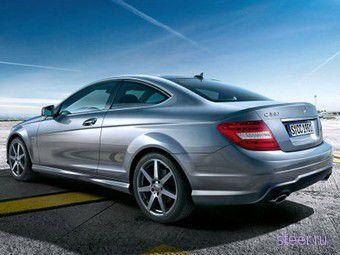 Обнародованы фотографии нового купе Mercedes-Benz C-Class (фото)