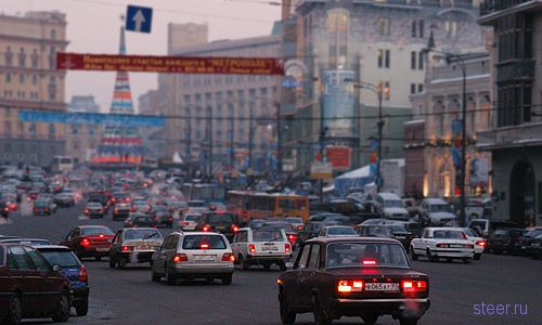 Московским водителям предстоит два года мучений