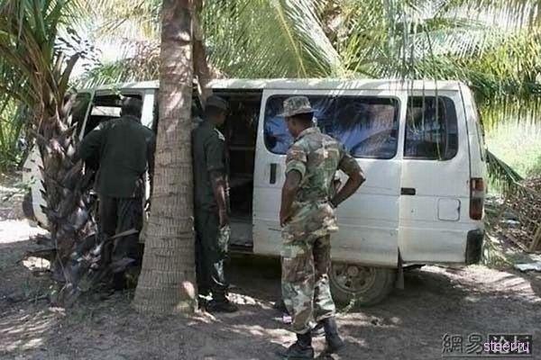 Сомалийская бронированная машина (фото)