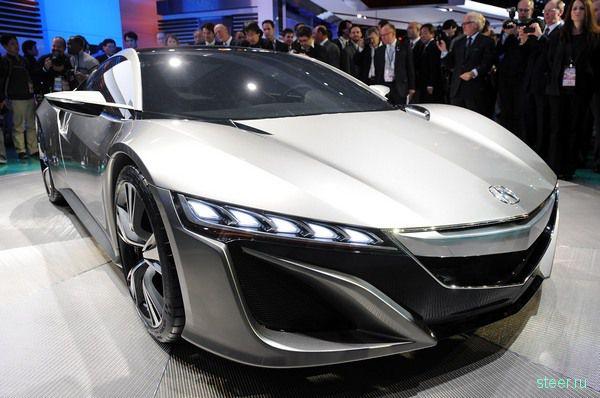 Honda провела дебют нового поколения суперкара Acura NSX (фото)