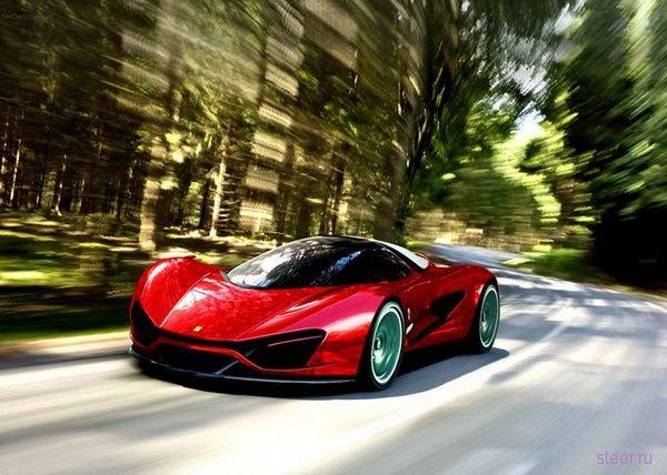 Ferrari Xezri : Концепт с азербайджанскими корнями (фото)