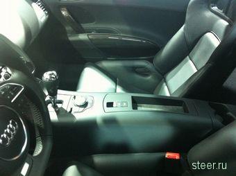 Первые изображения интерьера Audi R8 e-tron (фото)