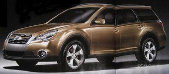 Премьера нового поколения Subaru Legacy состоится в апреле этого года