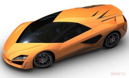 Giugiaro Namir: Самый быстрый в мире гибридный спорткар (фото)
