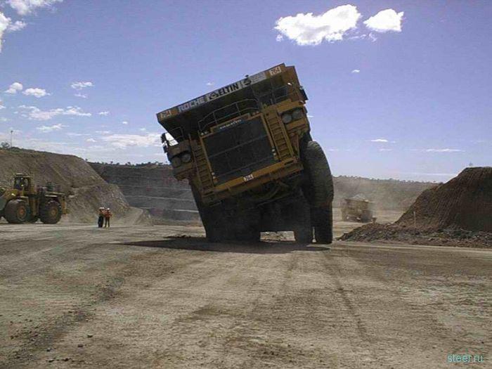 Неудачи с грузовиками (фото)