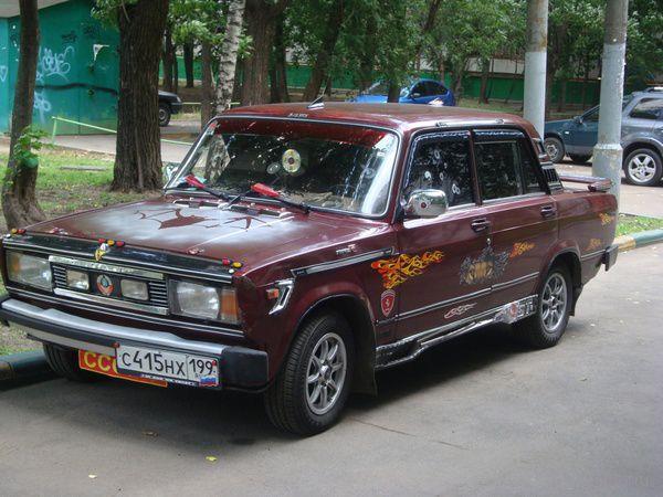 Суровому авто - суровый тюнинг (фото)