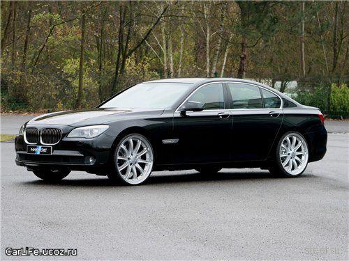 Новая обувка для BMW 7 серии