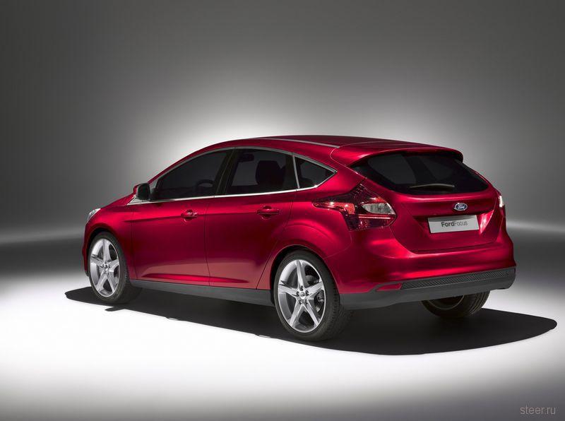Ford официально представляет новое поколение Ford Focus (фото)