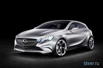 Mercedes показал концепт нового поколения A-Class (фото)