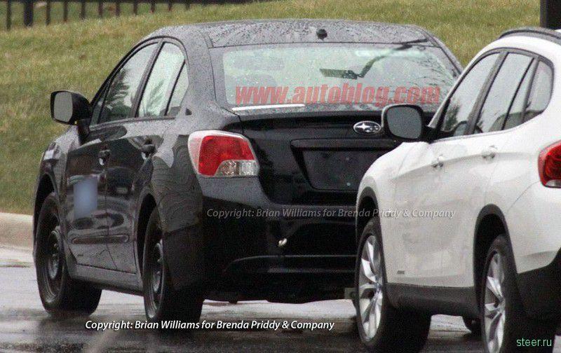 Новая Subaru Impreza: шпионские снимки раскрывают дизайн машины (фото)