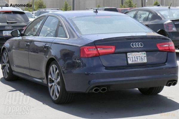 Новый Audi S6: первый взгляд (фото)