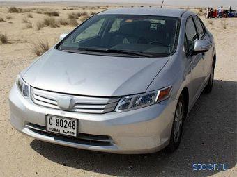 Новый седан Honda Civic без камуфляжа (фото)