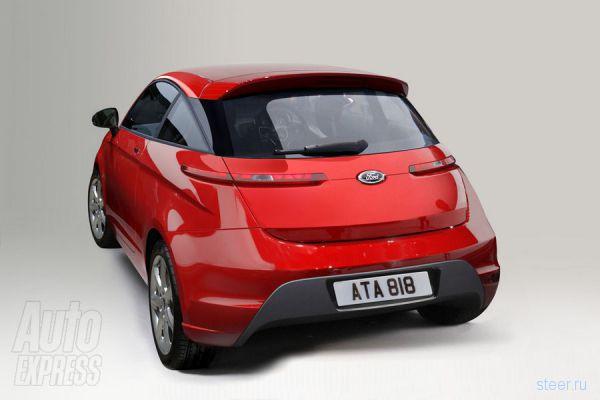 Новый Ford Ka появится в 2014 году (фото)