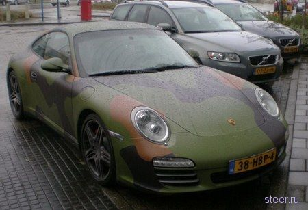 Porsche 911 Carrera Camouflage