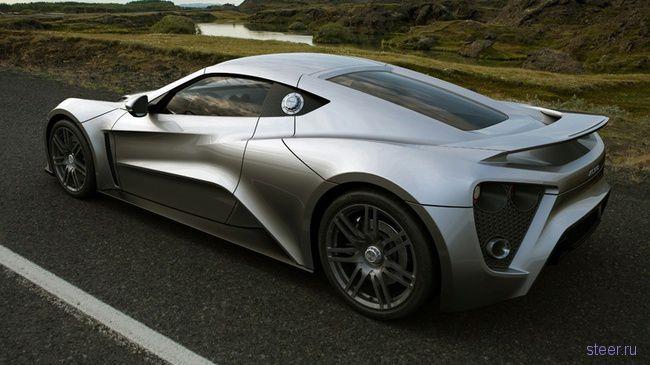 Датский суперкар Zenvo ST1будет стоить 3 миллиона (фото)
