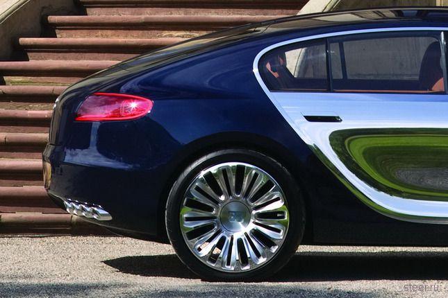 Хэтчбек Bugatti. Новые фото. (фото)