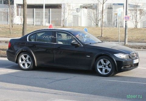 Шпионские фотографии следующего поколения BMW 3-серии