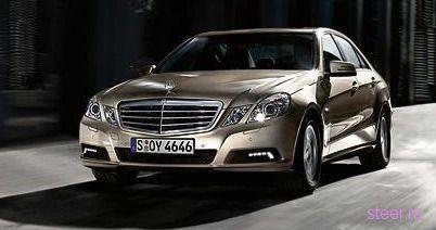 Шпионы нашли брошюру о новом Mercedes E-class