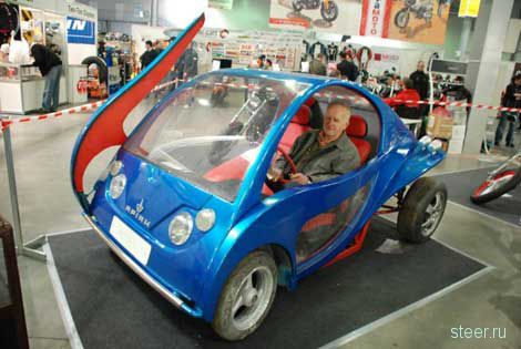 На Украине будут серийно выпускать мини-автомобиль, стоимостью 2000 долларов (фото)