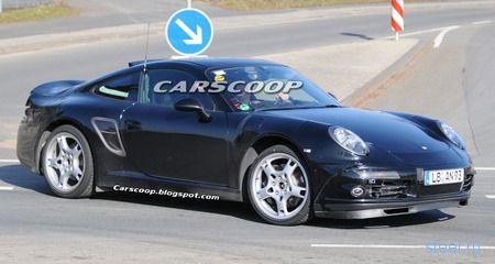 Шпионские фото Porsche 911 Carrera 2011 модельного года (фото)