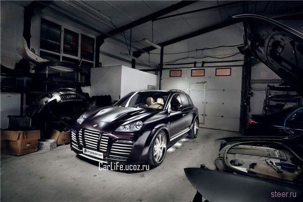 MAFF Muron: румынский взгляд на тюнинг Porsche Cayenne (фото)