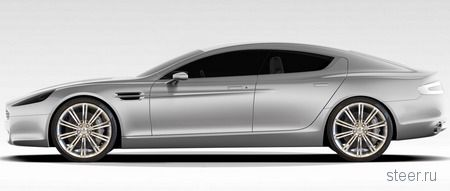 Новые подробности о седане Aston Martin Rapide (фото)
