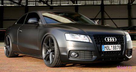 """""""Черное купе"""" Audi в тюнинге Avus"""