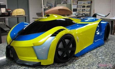 Бразильский студент разработал для Renault концепт гибридного суперкара (фото)