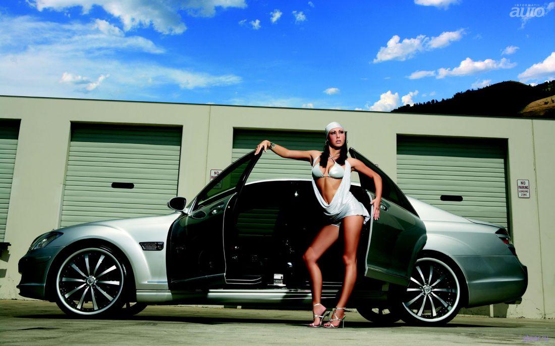 Очень красивые девушки и авто фото 509-219