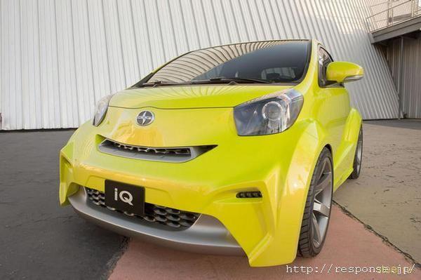 Из Toyota iQ сделают спортивку