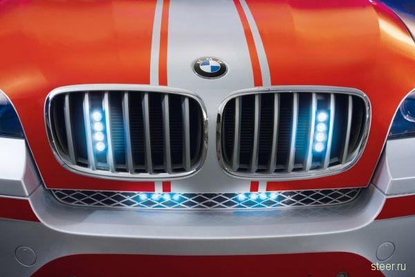 Cкорая помощь на базе BMW X6 (фото)