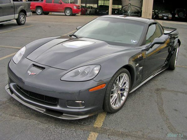 Corvette ZR1 продали на Ebay за бесценок (фото)