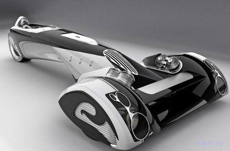 Концепт Peugeot будущего: автомобиль или бритвенный станок? (фото)