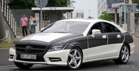 Новый Mercedes CLS. Первые шпионские снимки (фото)