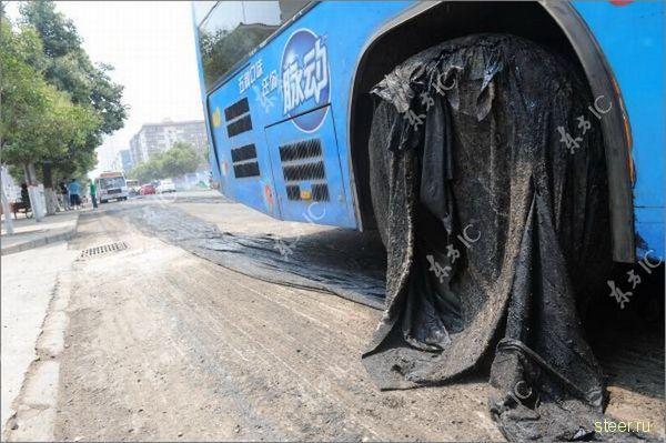 Проблемы с дорожным покрытием (фото)