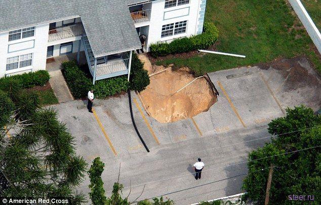 Провальный паркинг (фото)