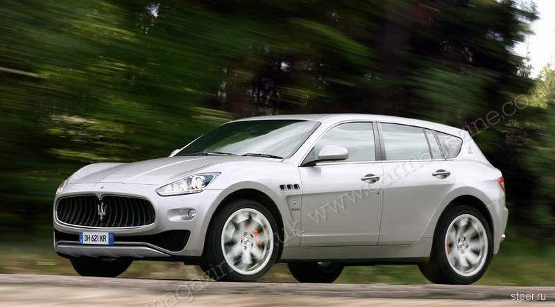 Первые изображения внедорожника Maserati (фото)