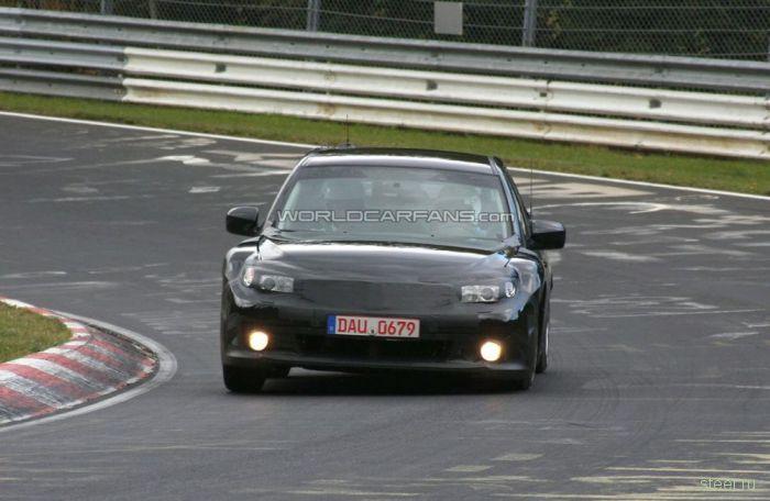 Прототип Toyota 86 проходит тесты на кольце Нюрбургринга (фото)