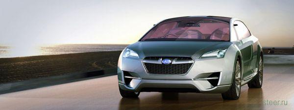 Subaru представила новые изображения концепта Hybrid Tourer (фото)