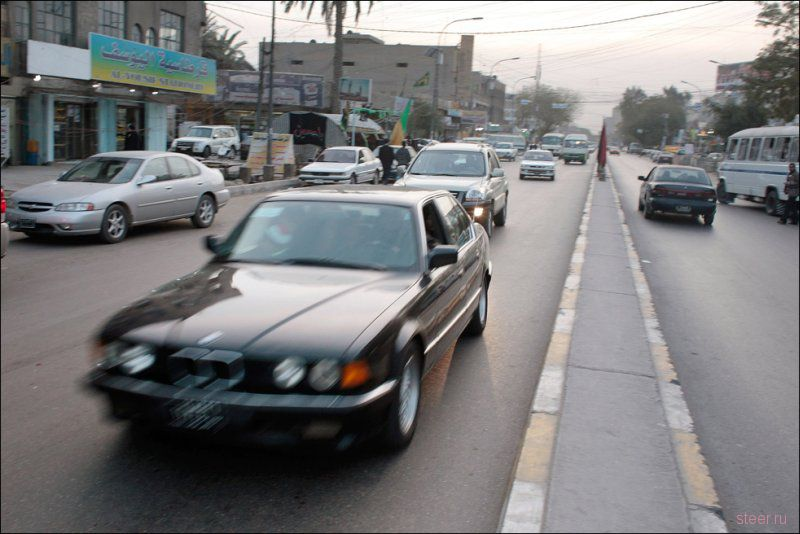 Автомобили в Ираке (фото)
