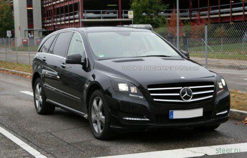 Новый Mercedes-Benz R-Class (фото)